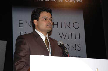 Compering the International Dental Congress conferenc
