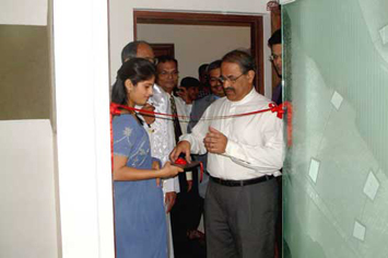 Opening of Gum Care Clinic by Ex-Police Commissioner Mr. Ronnie Mendonca