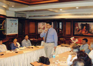 Speaking at a Business Networking forum